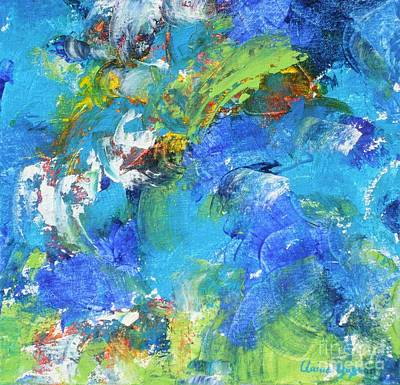 Painting - Tidal Wave by Claire Gagnon