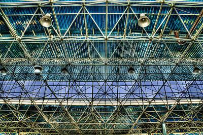 Arquitectural Photograph - Tiete's Ceiling by Ezequiel Rodriguez Baudo