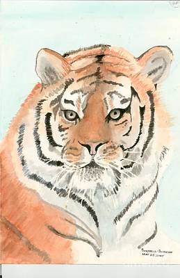 Painting - Tiger 1 by Delores Swanson