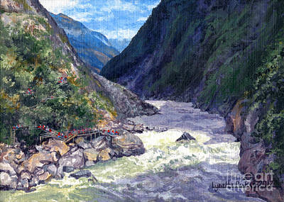 Painting - Tiger Leaping Gorge by Lynette Cook