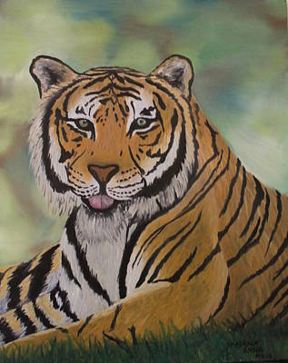 Tiger Art Print by Shadrach Ensor