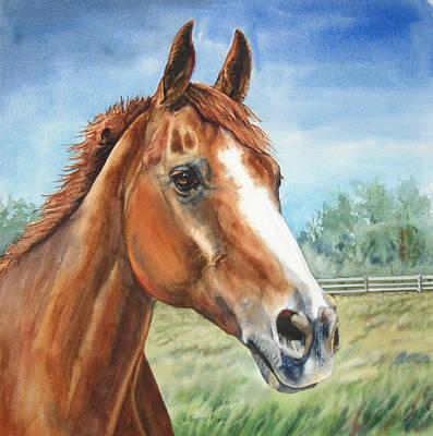 Kristine Painting - Tigger by Kristine Plum