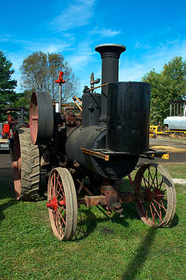 Photograph - Tigger Steam Engine Tractor by Mark Dodd