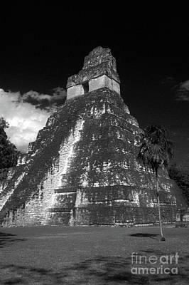 Tikal Photograph - Tikal Temple Guatemala by John  Mitchell
