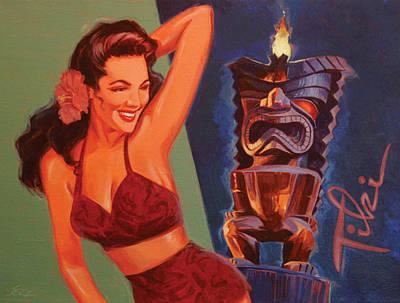 Tiki Tarts- Might I Have A Mai Tai Original by Shawn Shea
