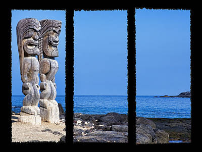 Photograph - Tiki Triptych by Kelley King