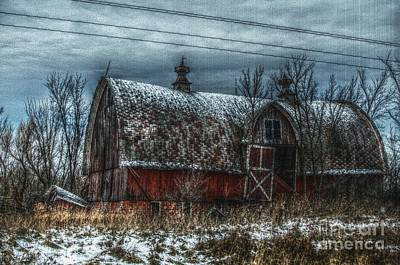 Barns Digital Art - Til The Cows Come Home by The Stone Age