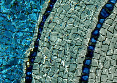 Photograph - Tile Mosaic Abstract I I I by Kirsten Giving