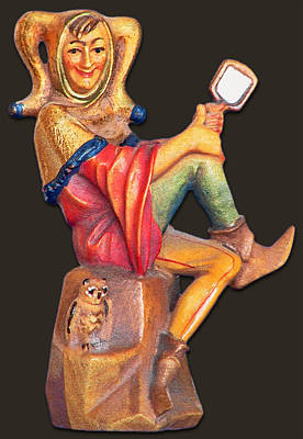 Jester Photograph - Till Eulenspiegel - The Merry Prankster by Christine Till