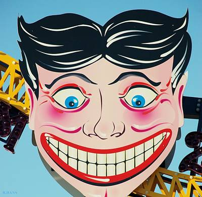 Photograph - Tillie The Clown Of Coney Island by Rob Hans