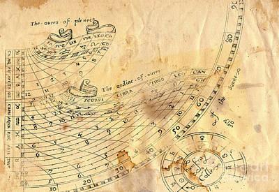 Time - Horoscope Signs Art Print by Michal Boubin