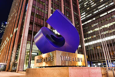 Must Art Photograph - Time And Life Curved Cube by Paul Ward