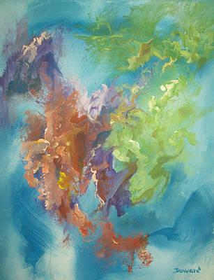 Time Beyond Art Print by Raymond Doward