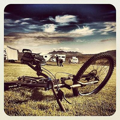Mtb Photograph - Time For A Break! #camping #torvaig by Robert Campbell