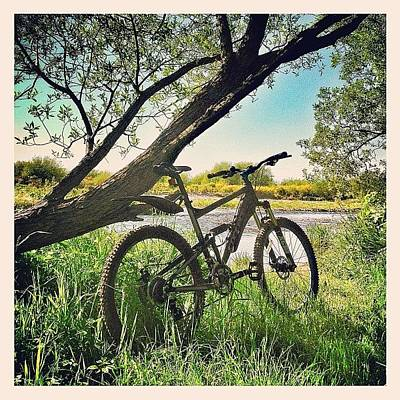 Mtb Photograph - Time For A Break... #nature #trail by Robert Campbell