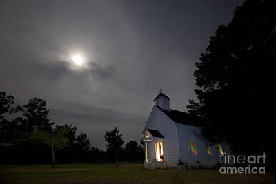 Old Home Place Photograph - Time For Church by Keith Kapple