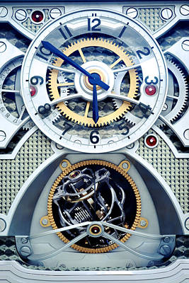 Time Keeper Art Print by Onder Konuralp