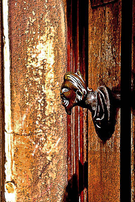 Photograph - Time Knocker by Greg Sharpe