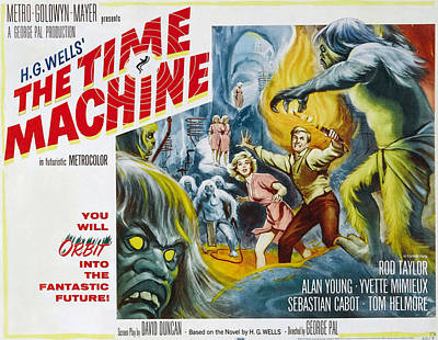 Time Machine, The, Yvette Mimieux, Rod Art Print by Everett