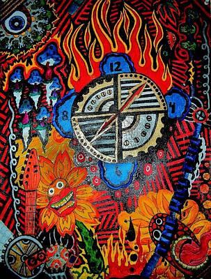 Time Will Tell Art Print by Ragdoll Washburn