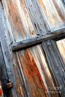 Photograph - Weathered New Orleans Door by Carol Groenen