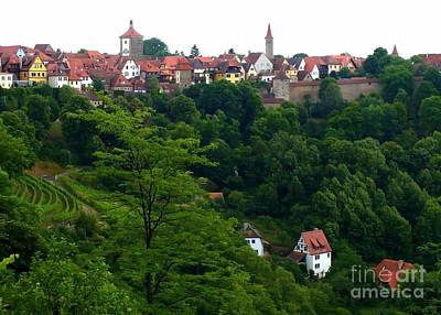 Photograph - Timeless Rothenburg by Carol Groenen