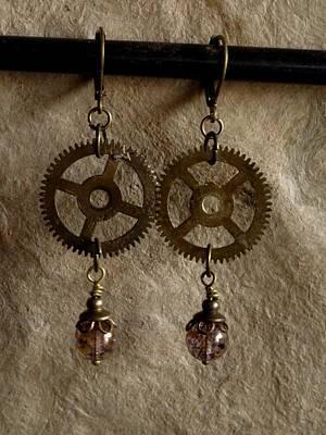 Time's Wheel Original by Jan Brieger-Scranton