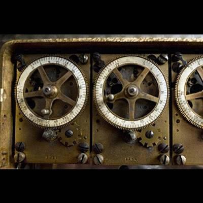 Gears Photograph - Timing Gears by David Joel