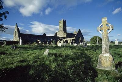 Timoleague Abbey, Co Cork, Ireland 13th Art Print