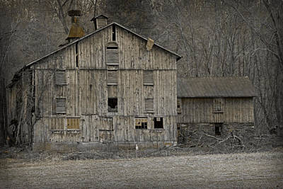 Late Day Light Photograph - Tin Cup Chalice Barn by John Stephens