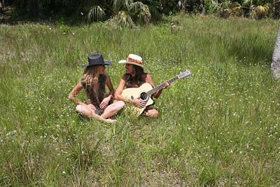 Tina And Susan 109 Art Print
