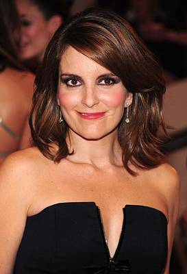 Tina Fey At Arrivals For American Woman Art Print by Everett