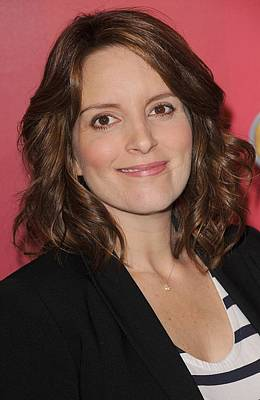 Tina Fey At Arrivals For Nbc Upfront Art Print by Everett