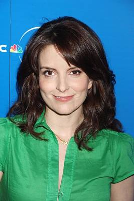 Tina Fey At Arrivals For The Nbc Art Print by Everett