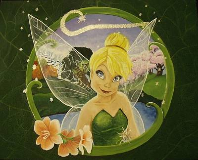 Tink Painting - Tink by Rebecca Marquardt
