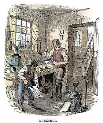 Tinsmiths, C1865 Art Print by Granger