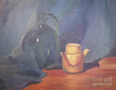 Painting - Tiny Tea by Lilibeth Andre