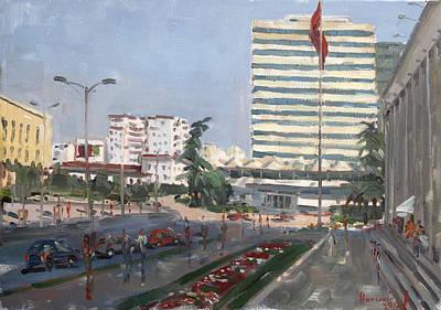 15 Painting - Tirana by Ylli Haruni
