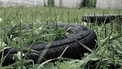 Photograph - Tires  by Briana La Trise