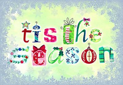 Christmas Cards Digital Art - Tis The Season by Cathie Tyler