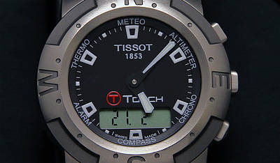 Photograph - Tissot Titanium by Dragan Kudjerski