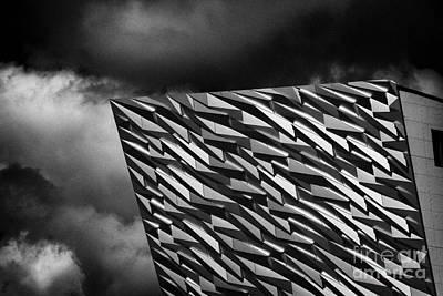 Renewing Photograph - Titanic Building Titanic Quarter Queens Island Belfast Northern Ireland Uk by Joe Fox