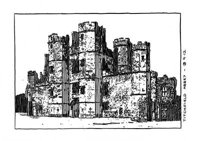 Titchfield Abbey Art Print by Peter Smith