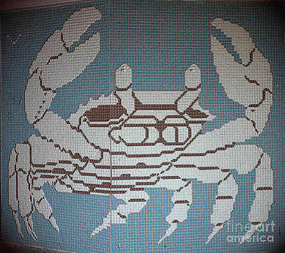 Photograph - Title Crab by Donna Brown