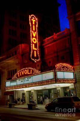 Corky Willis And Associates Atlanta Photograph - Tivoli Theater Chattanooga Tennessee by Corky Willis Atlanta Photography