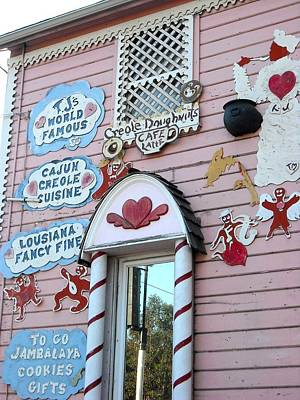 Photograph - Tj's Gingerbread House Oakland by Kelly Manning