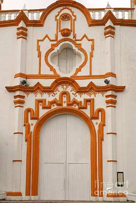 Tlacotalpan Church Veracruz Mexico Art Print by John  Mitchell