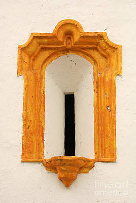 Photograph - Tlacotalpan Church Window Veracruz Mexico by John  Mitchell