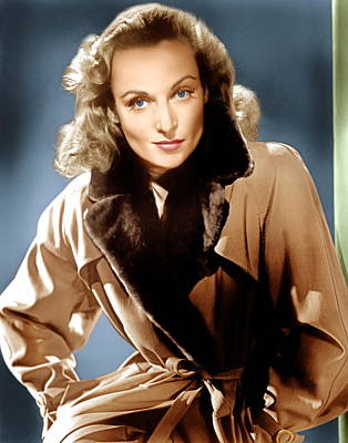 To Be Or Not To Be, Carole Lombard, 1942 Art Print