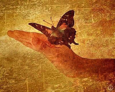 Butterflies Digital Art - To Catch The Moment by Gun Legler